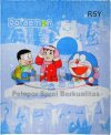 Selimut Internal Doraemon