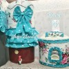 Galon Set GKM vintage tosca